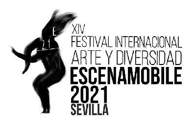 Cartel del XIV Festival Internacional Escena Mobile 2021 Sevilla