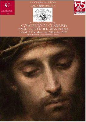 Concierto: Escolanía Salesiana en la Basílica del Gran Poder de Sevilla 2018