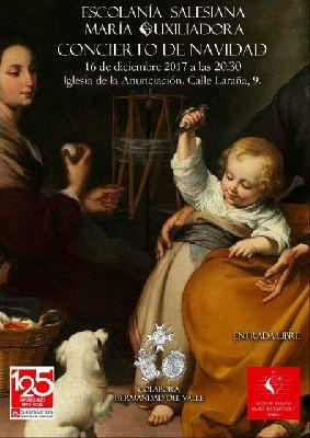 Concierto: Escolanía Salesiana en la iglesia de la Anunciación de Sevilla 2017