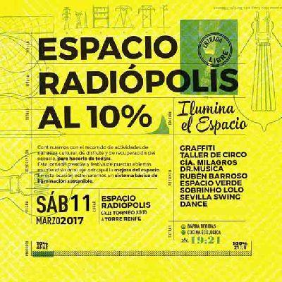 Ilumina el Espacio Radiópolis de Sevilla
