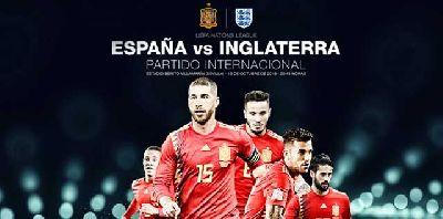 Fútbol: España - Inglaterra en Sevilla 2018