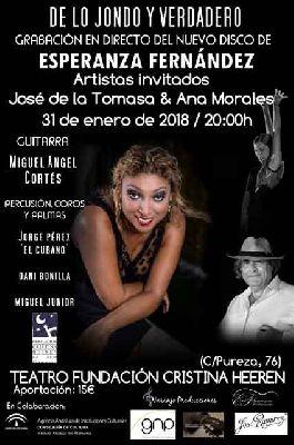 Flamenco: Esperanza Fernández en la Fundación Cristina Heeren Sevilla