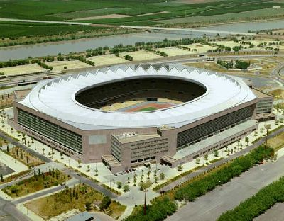Fútbol: Ucrania y Noruega en el estadio Olímpico de la Cartuja