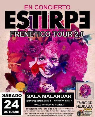 Concierto: Estirpe en Malandar Sevilla 2015