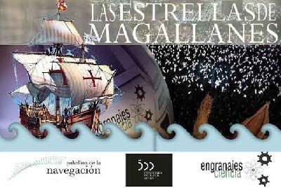 Cartel de la visita Las Estrellas de Magallanes