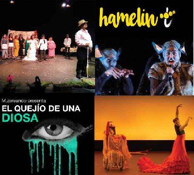 Cartel del I Encuentro de Teatro de Inclusión y Comunitario (ETICO)