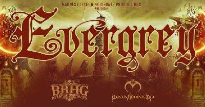 Cartel del concierto de Evergrey en Custom Sevilla 2019