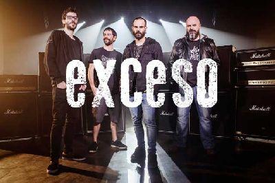 Foto promocional del grupo Exceso