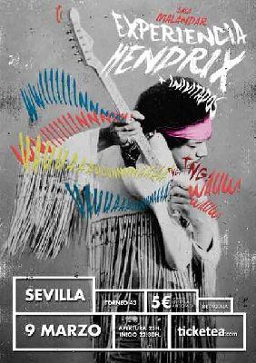 Concierto: Experiencia Hendrix en Malandar Sevilla (marzo 2018)