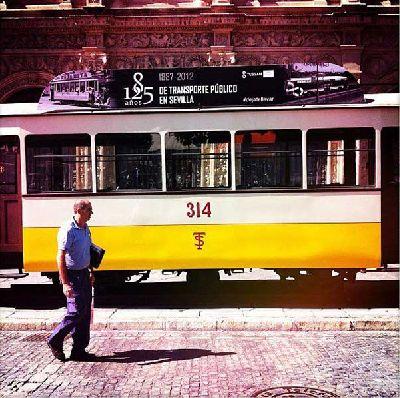 Exposición: 125 años de transporte público en Sevilla