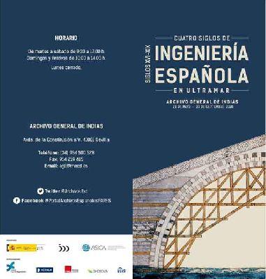Exposición: 4 Siglos de Ingeniería Española en el Archivo de Indias de Sevilla