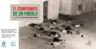 Exposición: 50 aniversario de Teatro El Lebrijano en Cajasol Sevilla