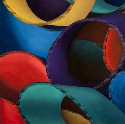 Exposición: Abstracciones geométricas en el Espacio 1de7 de Sevilla