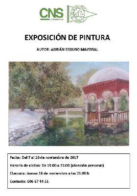 Exposición de Adrián Seguro Mayoral en el Club Náutico de Sevilla