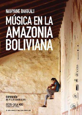 Exposición: Música en la Amazonía Boliviana en el CICUS