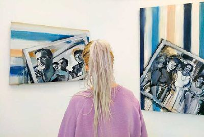 Foto de la exposición Mis ancestros lloran a través de mí de Elvira Martos
