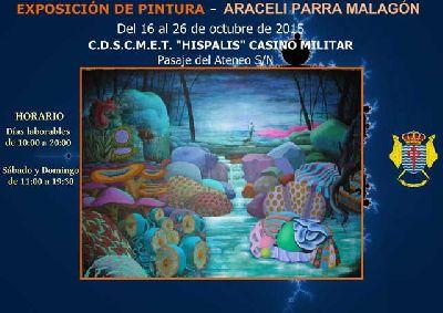 Exposición: Araceli Parra en el Casino Militar de Sevilla