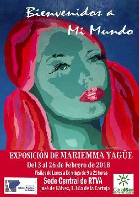 Exposición: Bienvenidos a Mi Mundo de Mariemma Yagüe en Canal Sur Sevilla