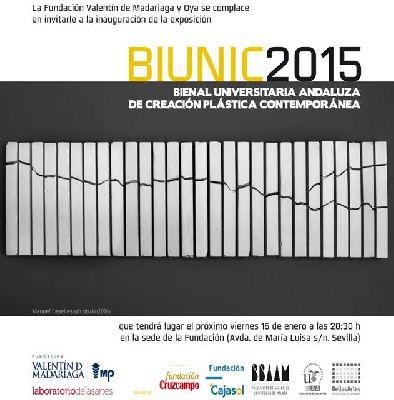 Exposición: BIUNIC 2015 en la Fundación Madariaga Sevilla