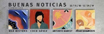 Exposición: Buenas noticias en Diwap Gallery de Sevilla 2018