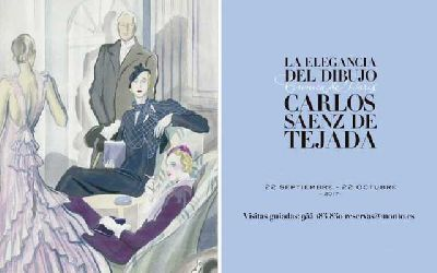 Exposición: Crónica de París. Carlos Sáenz de Tejada en Cajasol Sevilla