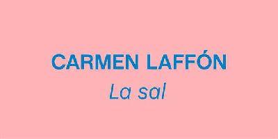 Cartel de la exposición Carmen Laffón. La sal en el CAAC de Sevilla