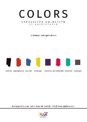 Exposición: Colors en Diwap Gallery de Sevilla 2018