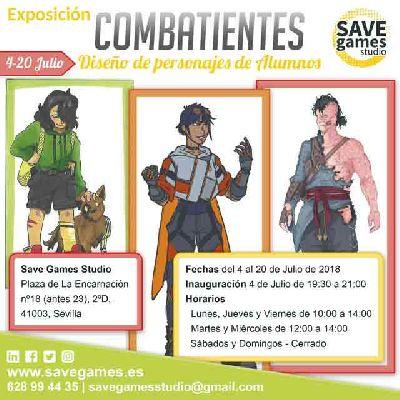 Exposición: Combatientes en Save Games Studio de Sevilla