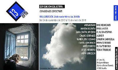 Exposición: Cuando nos conocimos en 13 EspacioArte de Sevilla