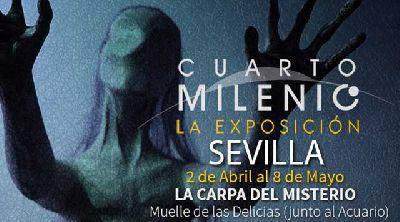 Exposición: Cuarto Milenio. La exposición en Muelle de las Delicias Sevilla