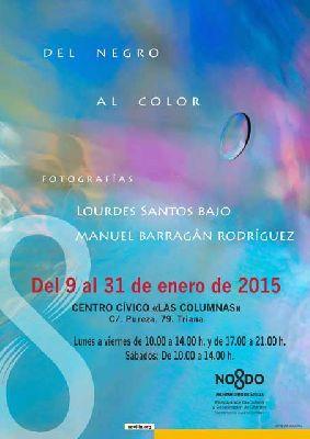 Exposición: Del negro al color en el CC Las Columnas de Sevilla