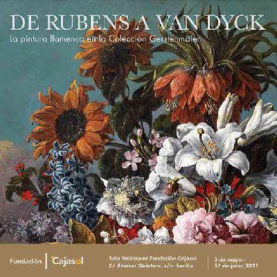 Cartel de la exposición De Rubens a Van Dyck