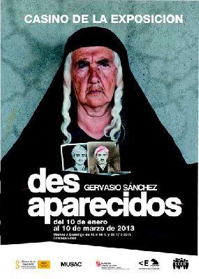 Exposición: Desaparecidos en el Casino de la Exposición Sevilla