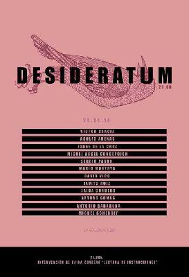 Exposición: Desideratum en la Galería Roja Sevilla