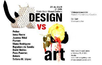 Exposición: Design vs Art en la Galería Wabi Sabi de Sevilla