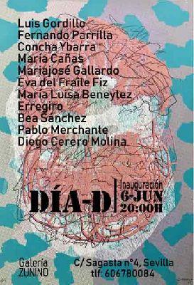Exposición: Día-D en la Galería Zunino de Sevilla