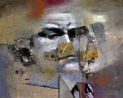 Imagen de la inauguración de la exposición El abrazo. Colección Mariano Yera