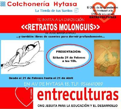 Exposición solidaria El arte de dormir en Sevilla