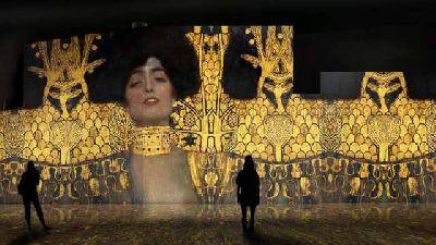 Foto promocional de la exposición El oro de Klimt
