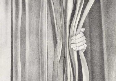 Imagen de la exposición El velo pintado de Paula Noya