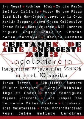 Exposición: Certamen de Arte Emergente en la Galería Roja Sevilla