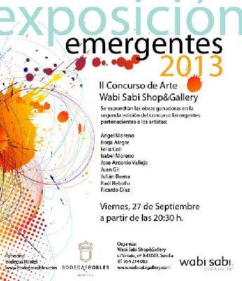 Exposición: Emergentes 2013 en Wabi Sabi Sevilla