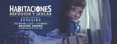 Exposición: Habitaciones: refugios y jaulas en la Galería Zunino de Sevilla