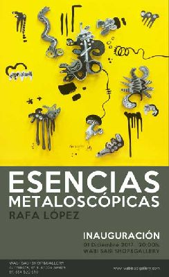 Exposición: Esencias metaloscópicas en Wabi Sabi Sevilla