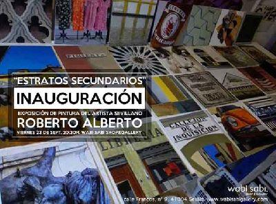 Exposición: Estratos secundarios en Wabi Sabi Sevilla