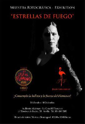 Exposición: Estrellas de Fuego en la Casa del Flamenco Sevilla