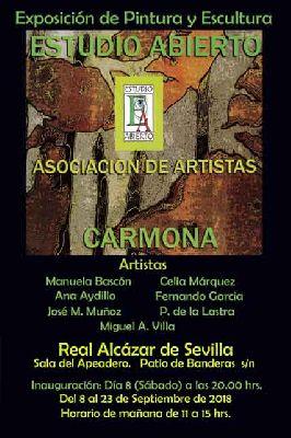 Exposición: Estudio abierto en el Alcázar de Sevilla