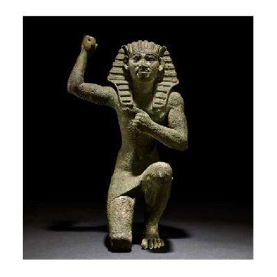 Imagen de estatuilla de bronce, c. 664-332 a. C. Egipto © British Museum