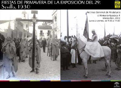 Exposición: Fiestas de primavera de la Exposición del 29 en Sevilla