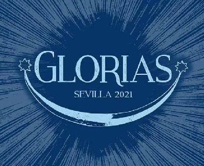 Cartel de la exposición Glorias en los Baños de la Reina Mora de Sevilla 2021